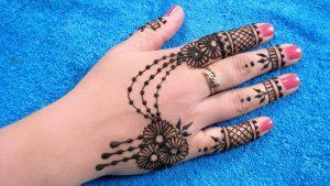 30 elegant Mehndi designs from thae back for ladies