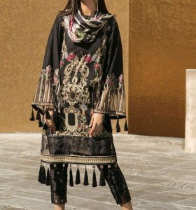 Eid Dress Collection 2018 with Price Catalogue By Nadia Hussain