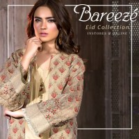 Embroidered Bareeze Eid latest design 2018 (1)
