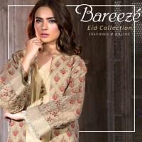 Embroidered Bareeze Eid latest design 2018 (1)