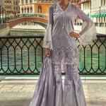 Maria B Lawn Eid Dresses Collection 2018 (25)