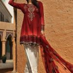 Maria B Lawn Eid Dresses Collection 2018 (7)