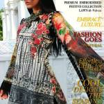 Motifz Embroidered Lawn Dresses Collection 2018 (1)
