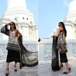 Motifz Embroidered Lawn Dresses Collection 2018 (5)