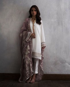 Nida Azwer Eid Festive Dresses Collection 2018 (6)