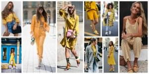 Yellow Colour Dresses Trend 2018 (2)