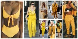 Yellow Colour Dresses Trend 2018 (3)