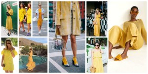 Yellow Colour Dresses Trend 2018 (7)