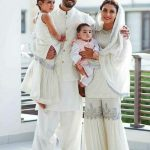 Celebrities with their kids on the 2nd day of Eid (1)