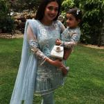 Celebrities with their kids on the 2nd day of Eid (4)
