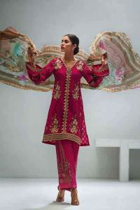 Gul Ahmed Luxury Eid Festival Dresses 2018 (25)