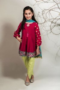 Teen Age Girls Eid Dresses Collection 2018 (1)
