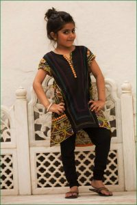 Teen Age Girls Eid Dresses Collection 2018 (15)