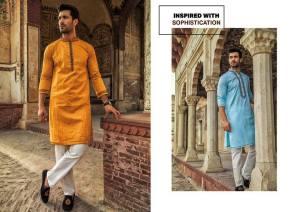 Urban Studio Men Dresses Eid Collection 2018 by Ismail (3)