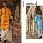 Urban Studio Men Dresses Eid Collection 2018 by Ismail (3)