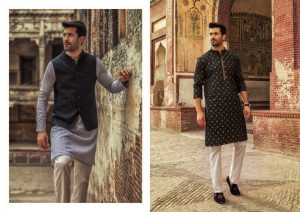 Urban Studio Men Dresses Eid Collection 2018 by Ismail (4)