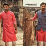 Urban Studio Men Dresses Eid Collection 2018 by Ismail (7)
