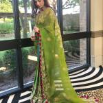 Ayesha Omar traditionally dressed at an event in the United States (9)