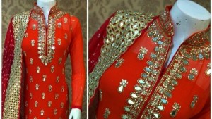 Mirror Work Dresses Fashion 2018 (10)