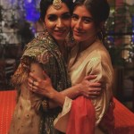 Syra Shahroze & her Sister Palwasha Yousaf at Friend Wedding (11)