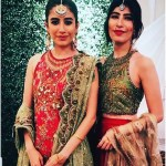 Syra Shahroze & her Sister Palwasha Yousaf at Friend Wedding (20)