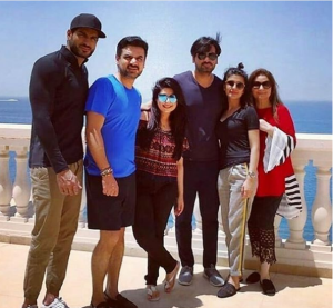 Cast of JPNA 2 film in London for the promotion of the film