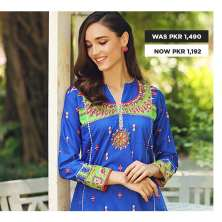 GulAhmed Women's Eid Dresses Collection 2020 (22)