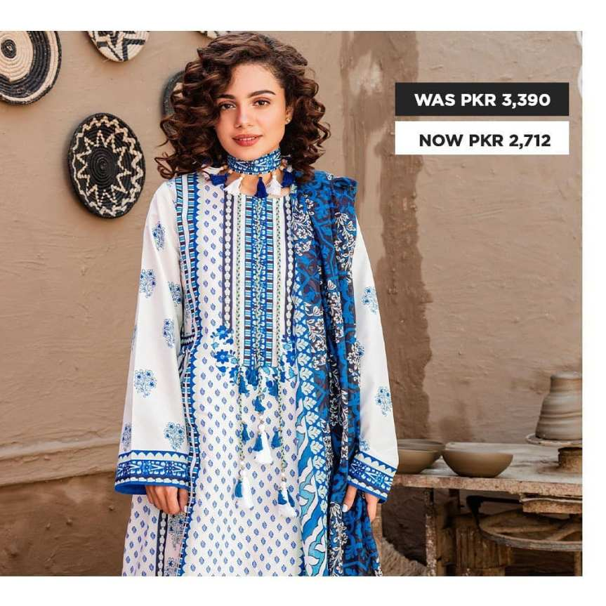 GulAhmed Women's Eid Dresses Collection 2020 (33)