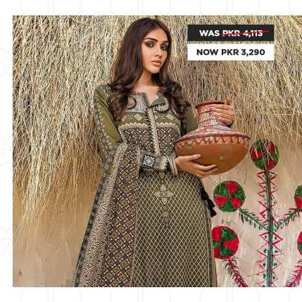 GulAhmed Women's Eid Dresses Collection 2020 (6)