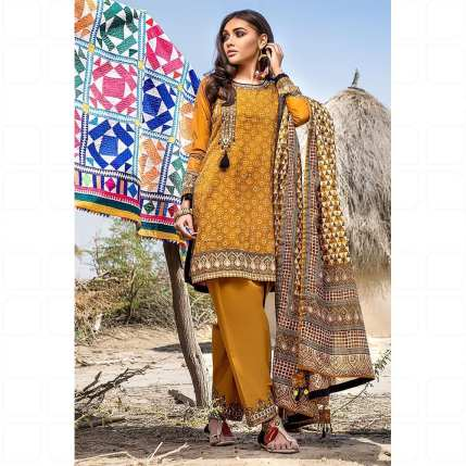 GulAhmed Women's Eid Dresses Collection 2020 (8)