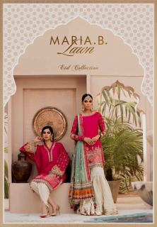 Unstitched Lawn Catalogue 2021 By Maria B (26)