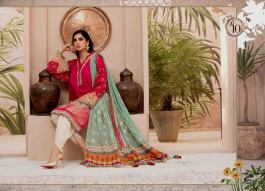 Unstitched Lawn Catalogue 2021 By Maria B (9)