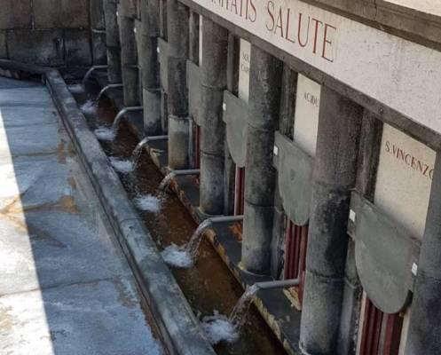 La mescita delle acque alle Antiche Terme di Stabia