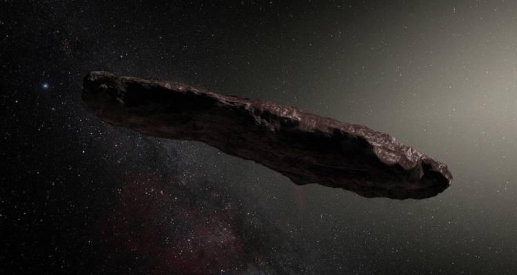 Non una cometa e neanche un asteroide.Cos'è dunque Oumuamua, l'oggetto spaziale a forma di sigaro che nel 2017 ha fatto capolino all'interno del Sistema Solare?