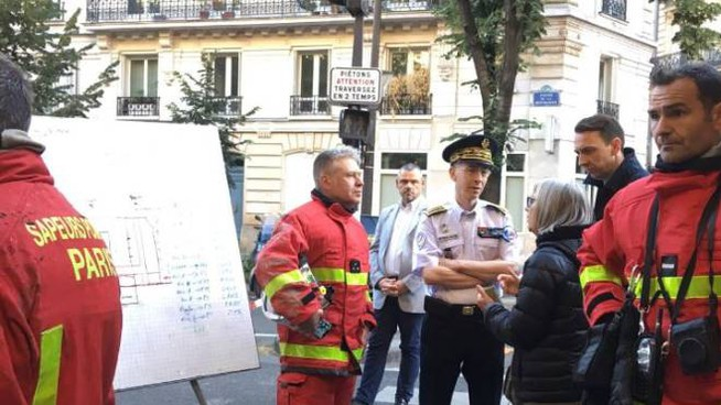 Incendio a Parigi