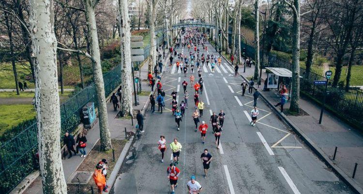 mezza maratona di parigi
