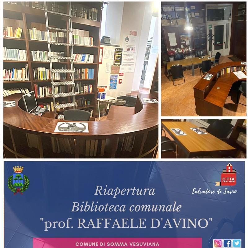 Somma Vesuviana biblioteca
