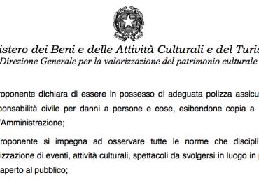 Avviso pubblico del Ministero