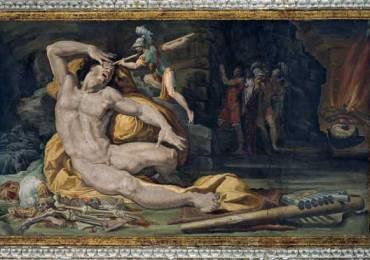 """""""Ulisse e Polifemo"""", Pellegrino Tibaldi, 1550"""
