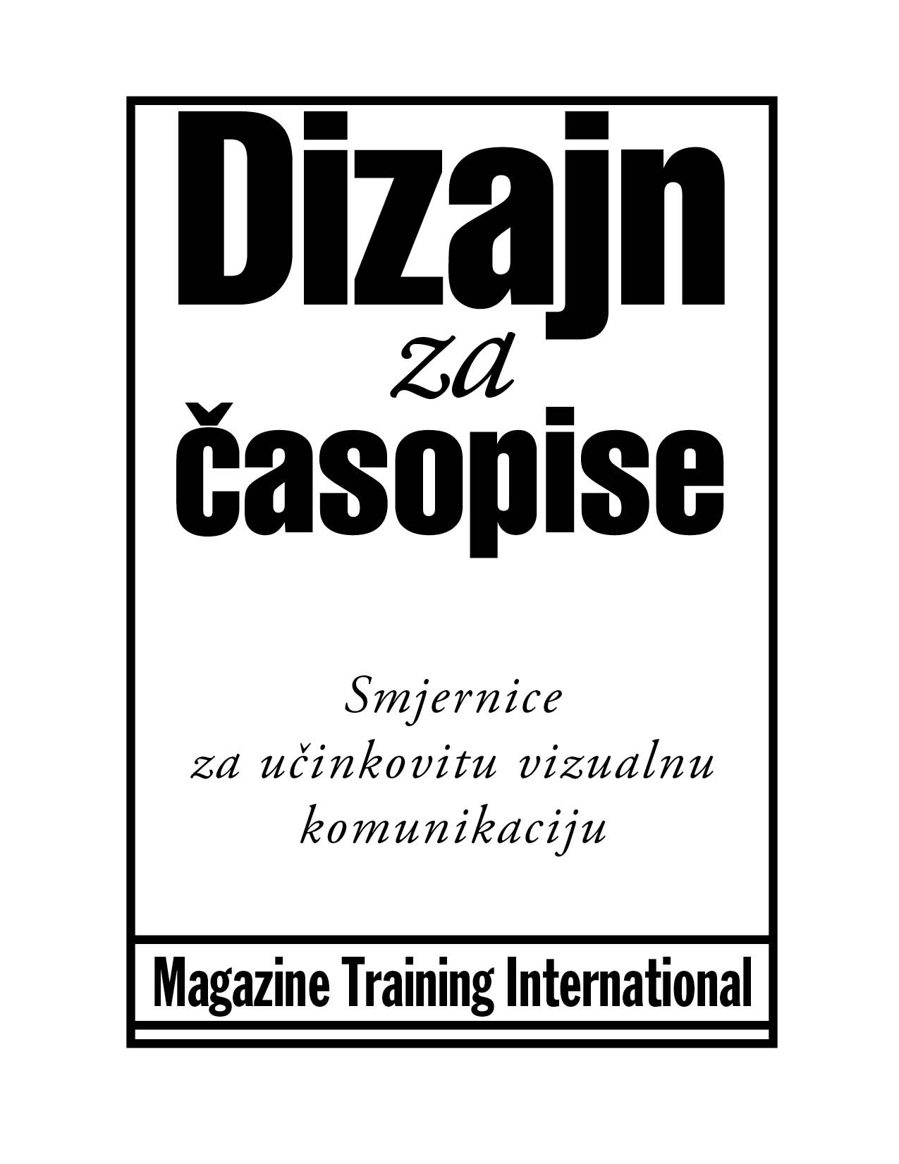 Magazine Training International » Blog Archive Design for