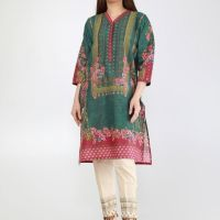Khaadi Eid Embroidered Kurta Stylish Look 2019