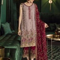 Iznik Online Unstitched Velvet Shirts Looking Design 2020