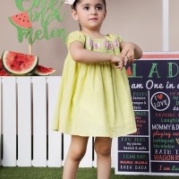 Kayseria Kids Girls Printed Frock Looking Designs 2020