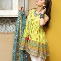 Awesome Lawn Kurta & Frock Looking Design 2020