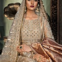 Maria B Embroidered Wedding Edition Collection  2020