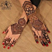 Unique Eid Mehndi Designs For Girls Looking Design 2020-21