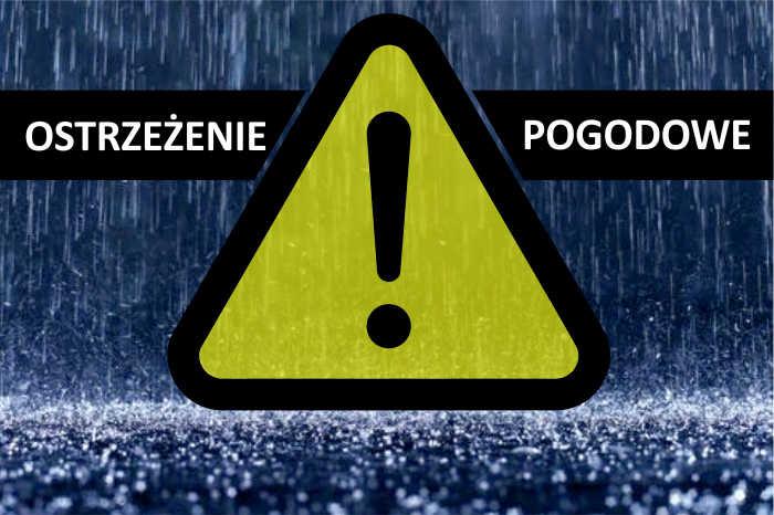 Ostrzeżenie meteorologiczne przed opadami
