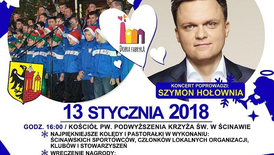 Szymon Hołownia poprowadzi koncert charytatywny
