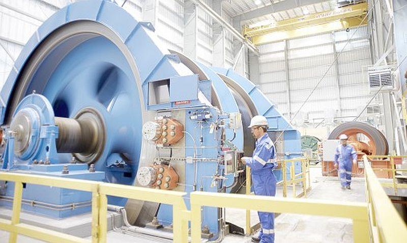 Maszyna wyciągowa kopalni ZG Lubin do modernizacji