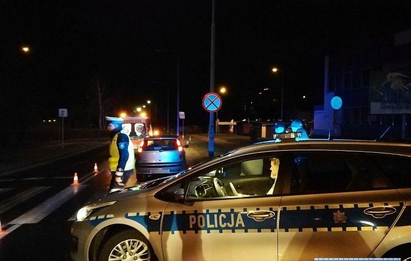 Kierowca punto potrącił kobietę na przejściu